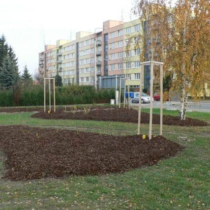 Parkové úpravy pro MM České Budějovice (Beránkovo nábřeží, Salesiánské středisko mládeže)