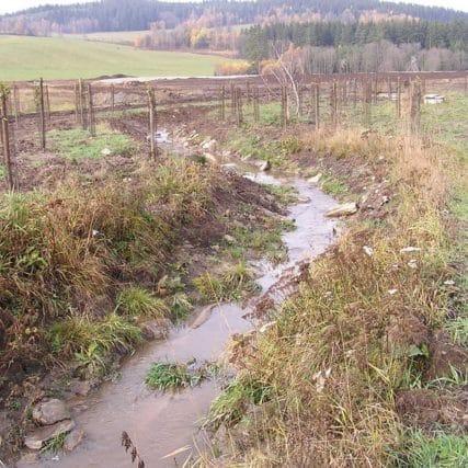 Revitalizace toku Ostřice – doprovodná zeleň v délce 2 km