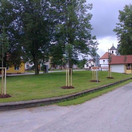 Parkové úpravy Jankov