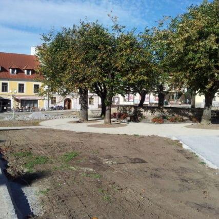 Parkové úpravy Nové Hrady